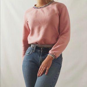*Vintage Cropped Sport Sweatshirt*